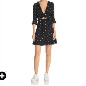 For Love & Lemons Polka Dot Dress